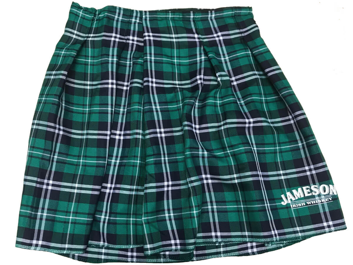 710fe0948 Custom Jameson Irish Kilt to wear during the St. Patrick s Day Run – for  the first 2